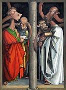 Cartoon: Die vier Apostel - Albrecht Dürer