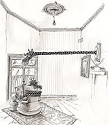 Cartoon: Das Großwildjäger-Wohnzimmer