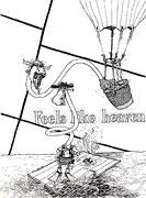 Cartoon: Feels like Heaven (Die Frau von Piet Mondrian)