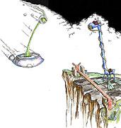 Cartoon: Fliegende Untertassen haben Vorfahrt