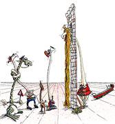 Cartoon: Rapunzel... hat ein Geheimnis