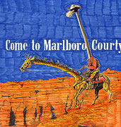 Cartoon: Zigaretten-Cartoon: die Marlboro-Giraffe
