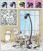 Cartoon: Kunstdruck Grafik - Gute Kunst kommt von innen...