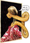 Cartoon: Ein Bild sagt mehr als tausend Worte