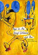 Cartoon: Mädchen von Olmo - Regen im Mai (nach Georg Baselitz)