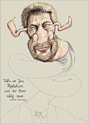 Cartoon: Leberwurst - Politiker Kurt Beck