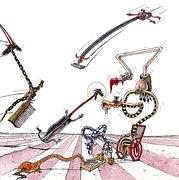 Cartoon: Hexen auf Handfeger